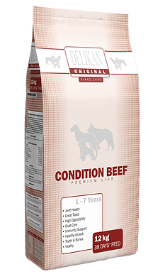 DELIKAN ORIGINAL CONDITION BEEF 12kg+1kg zdarma