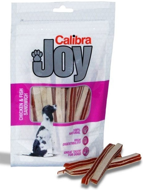 Calibra Joy Chicken&Fish Sandwich 80g