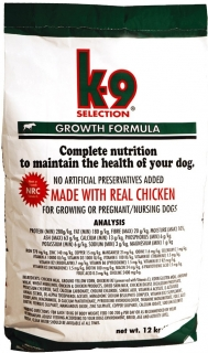K-9 Selection Growth 3 kg