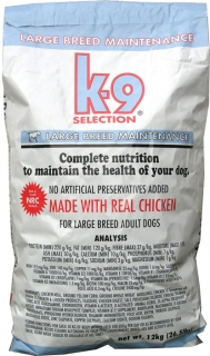 K-9 Selection Maintenance Large Breed 1 kg